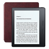 Электронная книга Amazon Kindle Oasis with Leather Charging Cover Merlot (Special Offers)